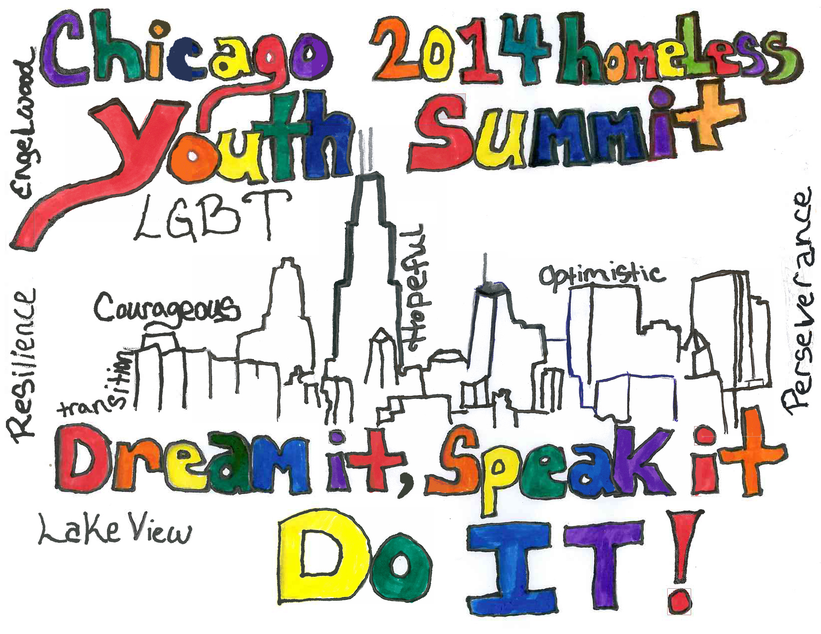 Youth Flyer - Chicago Summit on LGBT Youth Homelessness